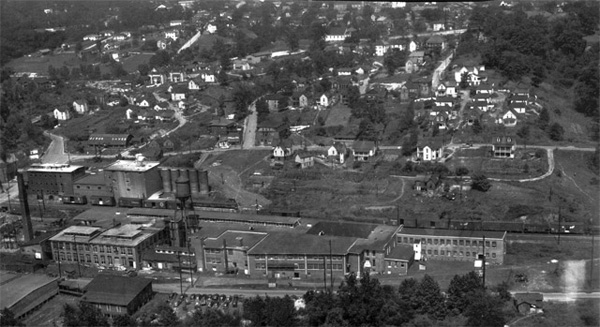 Chicken Hill circa 1945